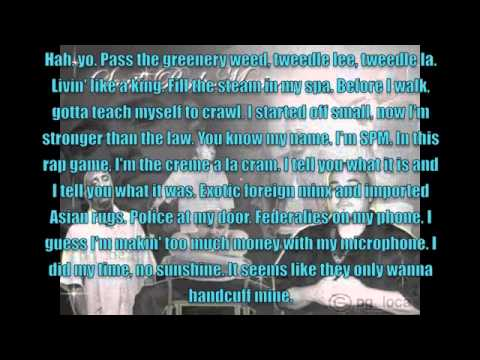 You Know My Name by SPM (South Park Mexican) Lyrics