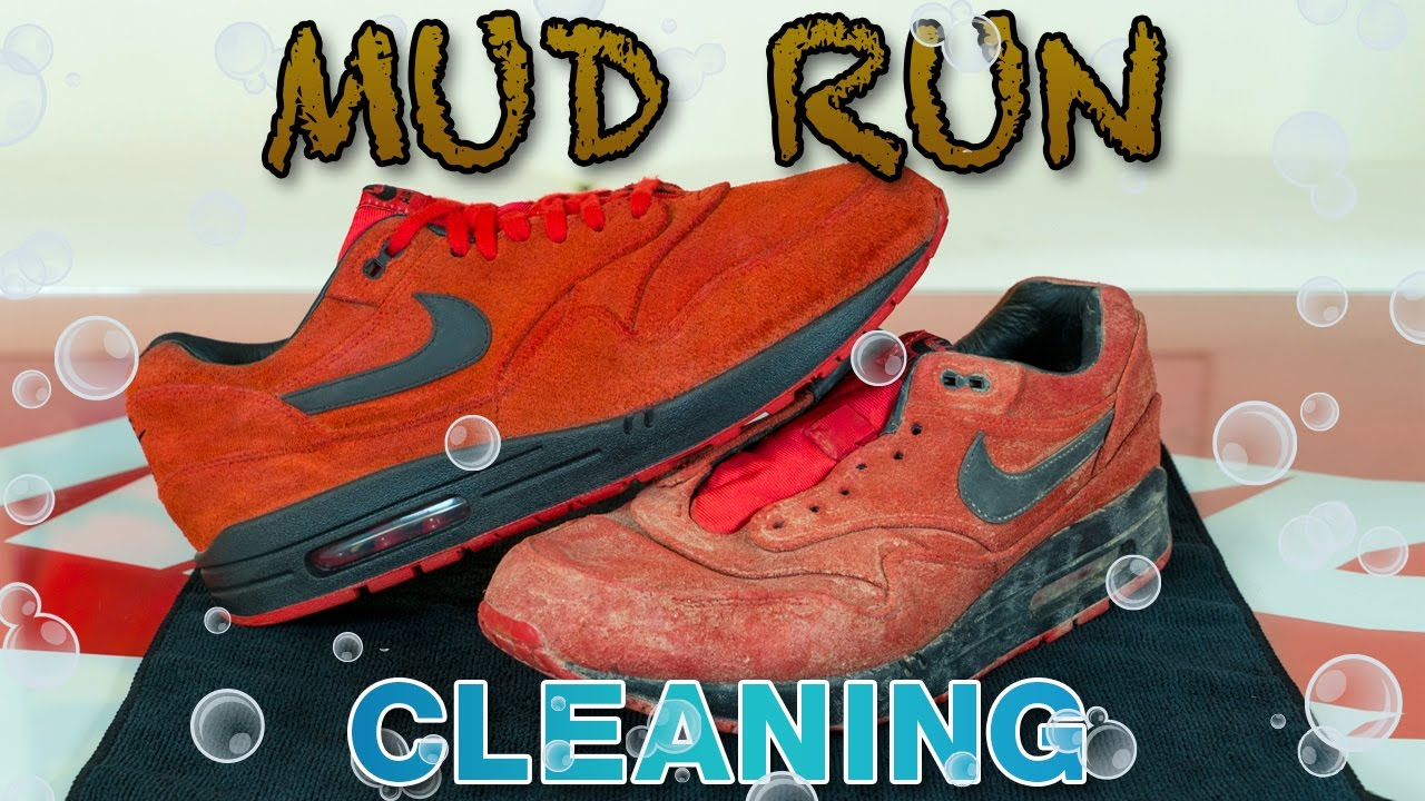 6eb0781f6f Cleaning Red Suede Air Max in the Washing Machine! - YouTube