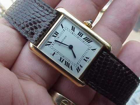 Cartier Santos - The first Cartier Sports watch.