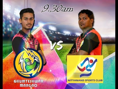 GENO PRUDENT T20 CUP | GHUMTESHWAR MARGAO VS NITYANANDA SPORTS CLUB