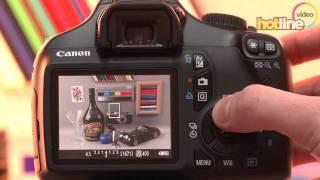 Обзор Canon EOS 1100D(Видеообзор младшей зеркальной фотокамеры в линейке Canon EOS 1100D. Сравнить цены: http://av.hotline.ua/tx/canon_eos_1100d/?catspot=4&sitesp..., 2011-04-11T10:17:52.000Z)