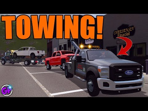 TOWING MADNESS | AMAZING TOW TRUCKS | WITH SPENCER TV | FARMING SIMULATOR 2017 thumbnail