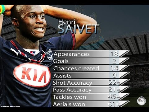 Henri Saivet - Welcome to Newcastle United - Skills and Goals - Bordeaux