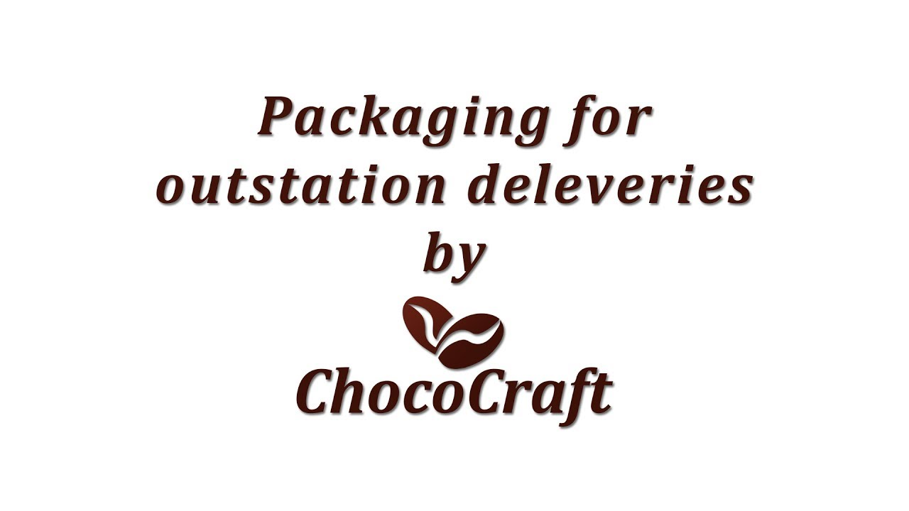 Weatherproof packaging for shipping chocolates – CHOCOCRAFT