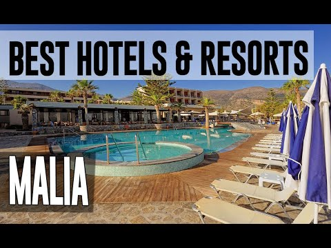 Best Hotels And Resorts In Malia, Greece