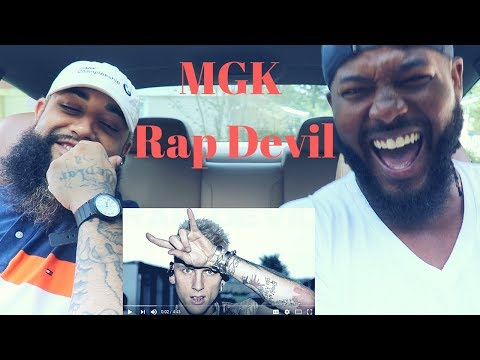 "Machine Gun Kelly ""Rap Devil"" (Eminem Diss) 
