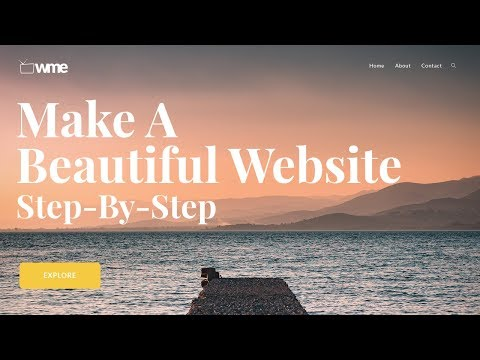 How To Make A Beautiful WordPress Website 2019 – Tutorial For Beginners