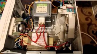 Мелкий ремонт микроволновки.(Диагностировал и снимал на видео: Усманов Альберт г. Давлеканово-12.09.2015 год., 2015-09-17T16:44:19.000Z)