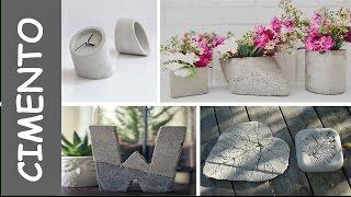Perfeitos Top projetos DIY de cimento para jardins - Parte 1