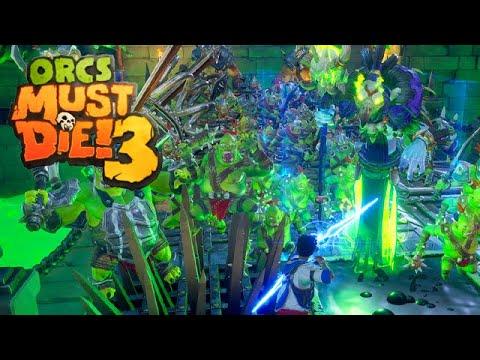 Orcs Must Die 3 Gameplay Deutsch Risslord #22 - Kriegsszenario auf schwer