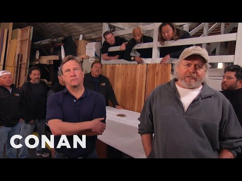 The CONAN Crew Demand A Better Nut Spoon  - CONAN on TBS