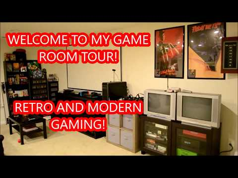 GAMING: MY GAME ROOM TOUR!