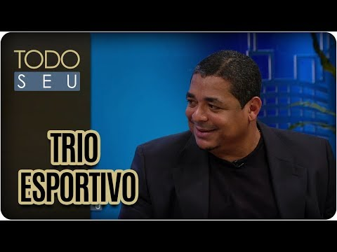 Flávio Prado, Vampeta E César Sampaio - Todo Seu (09/10/17)