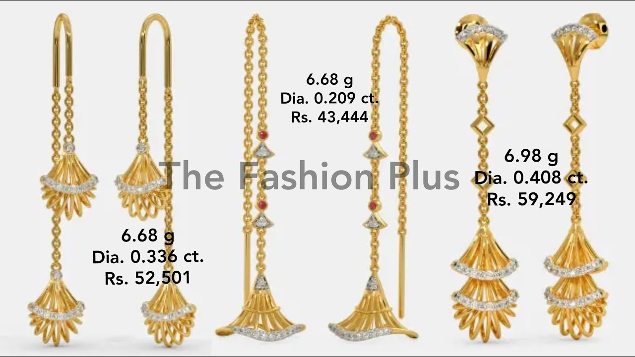 Earring Design with Weight and Price
