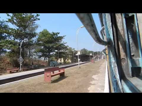 22907 MADGAON-HAPA SUPERFAST EXPRESS SKIPPING SAWANTWADI ROAD STATION KONKAN RAILWAY