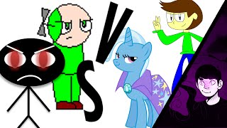 MUGEN: Microsoft Sam and Daniel VS The Iran Sonic and TGAP Trixie