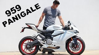 I Bought a 2016 Ducati 959 Panigale!!!