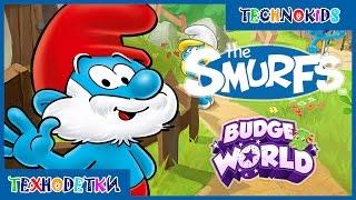 Cмурфики - мультики игры для детей - Смурфы - Играем в Budge World