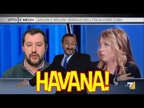Salvini & Meloni cantano