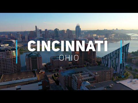 Cincinnati, Ohio | 4K Drone Footage