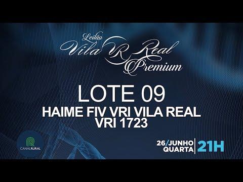LOTE 09 (VRI 1723)