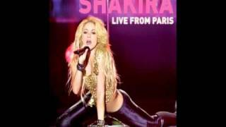 Shakira - Nothing else matters(live from Paris)