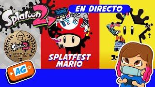 Jugamos Splatfest Super Mario 35 en Splatoon 2 para Nintendo switch