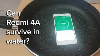 Redmi 4A water survival test