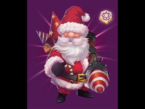 Castle Clash: More 9/9 Santa!!