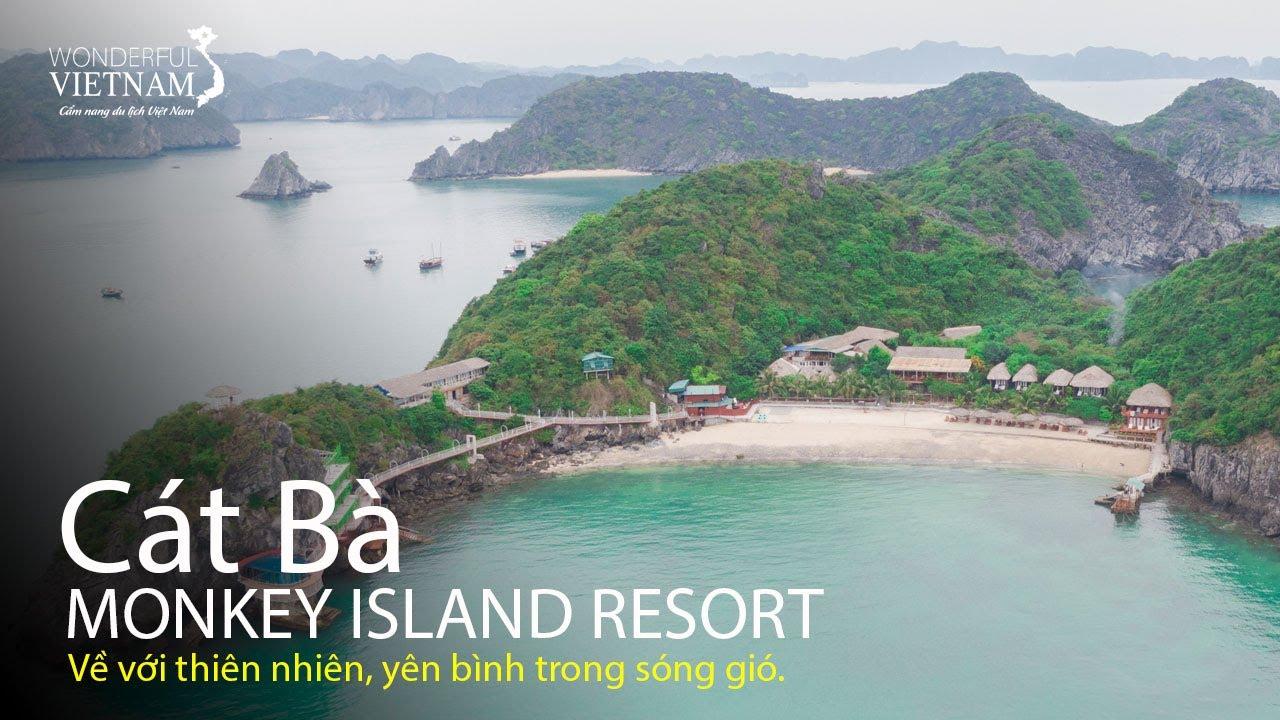 Trải nghiệm 1 đêm nghỉ dưỡng tuyệt vời tại Monkey Island Resort Cát Bà