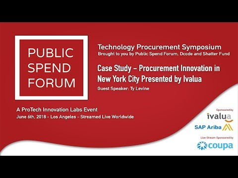 Case Study - Procurement Innovation in New York City Presented by Ivalua