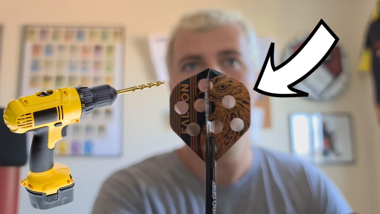 I Drilled Holes Into Dart Flights And Tried Them Out!