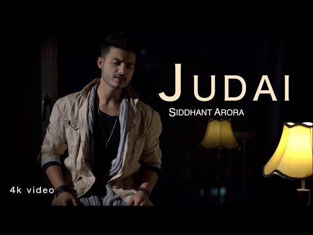 Judai 4K Unplugged Song SIDDHANT