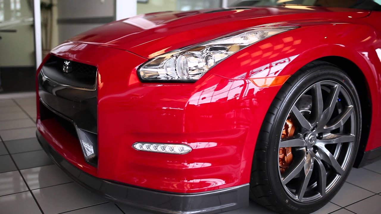 2014 Nissan Gt R Premium Solid Red Youtube