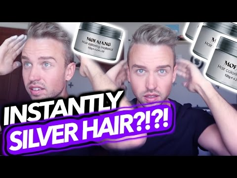 SILVER HAIR WITHOUT DYE?! | MOFAJANG REVIEW