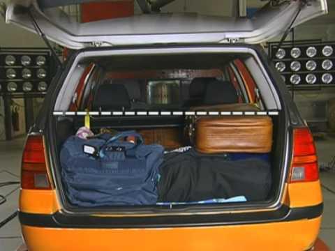 ADAC правила безопасной перевозки багажа и пассажиров
