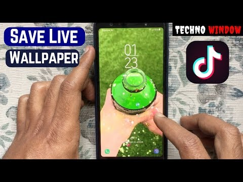 How To Save A Tik Tok Video As A Live Wallpaper On Android
