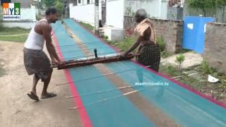 The Making of World Famous Hand Woven Banarasi Sarees | HOW TO MAKE DESIGNER SAREES