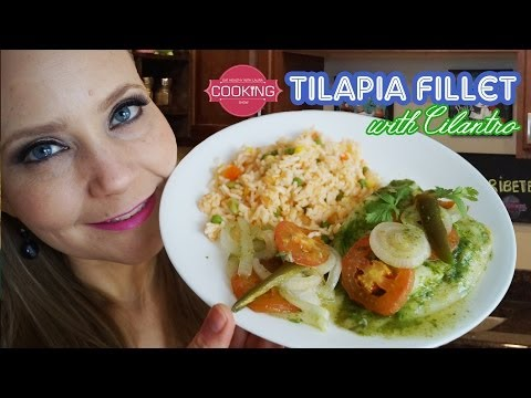 How To Make TILAPIA Fillets - Mexican Food