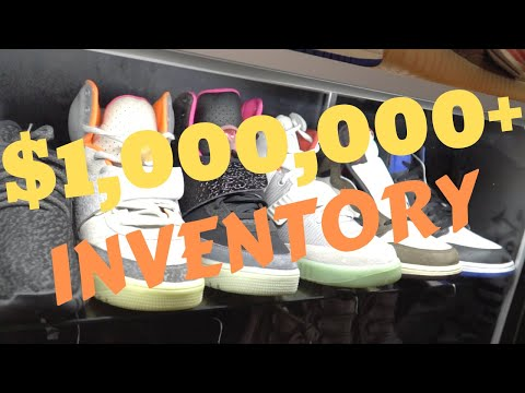 $1,000,000+ WORTH OF INVENTORY AT COOLKICKS LA?