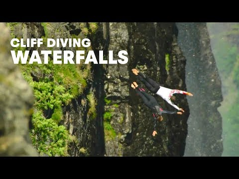 Scouting waterfall dives - Red Bull Cliff Diving World Series