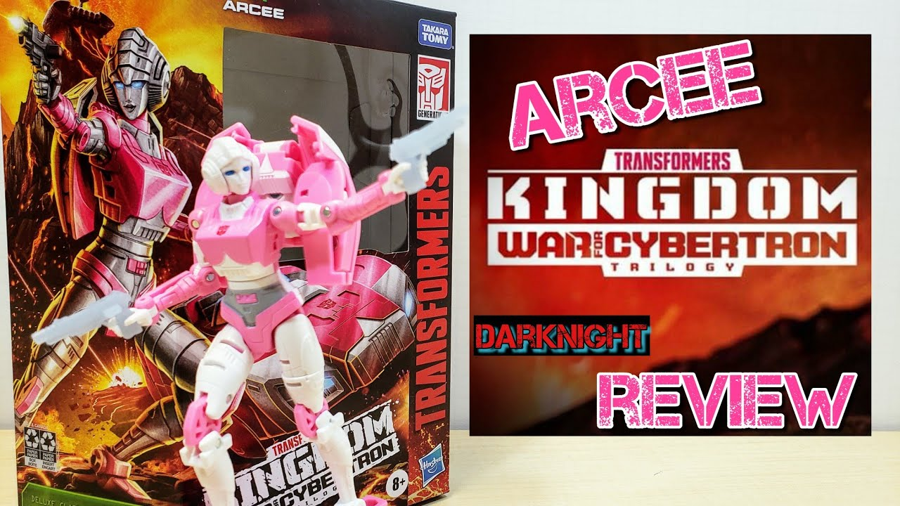 Transformers Kingdom Deluxe Class: ARCEE Review by DarkNight Reviews