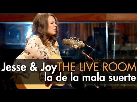 """Jesse & Joy - """"La De La Mala Suerte"""" captured in The Live Room"""