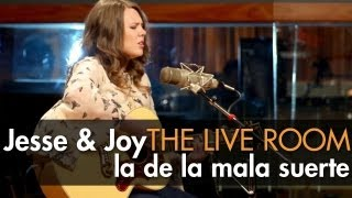 "Jesse & Joy - ""La De La Mala Suerte"" captured in The Live Room"