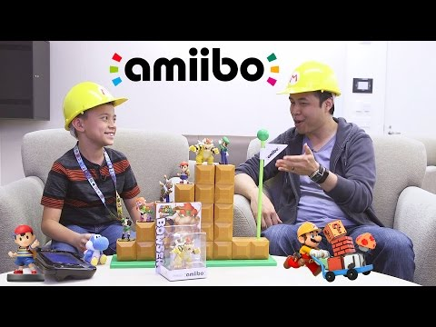 Amiibo TIME!!! Ft. Super Mario Maker, Yoshi's Woolly World & Mario Tennis Super Smash