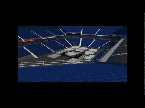 Allstate Arena WWE Setup (Complete With Link)