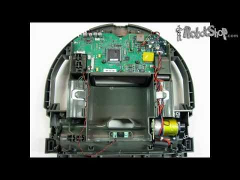 Neato Robotics Xv 11 Robotic Vacuum Disassembled By