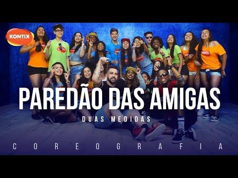 Paredão das Amigas - Duas Medidas (Kontik) | FitDance TV (Coreografia) Dance Video