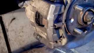 Disk tormoz Chevrolet, muammo, yechim rattle.