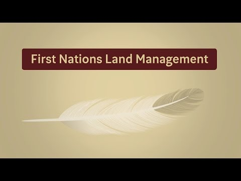 First Nations Land Management
